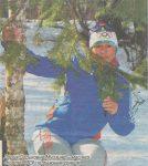 Дария Мурзина - Мастер спорта СССР по лыжным гонкам