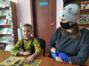 Вагнер Костя детский сад № 12 с мамой Евгенией Сергеевной