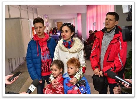 Семья В. Гальцевой