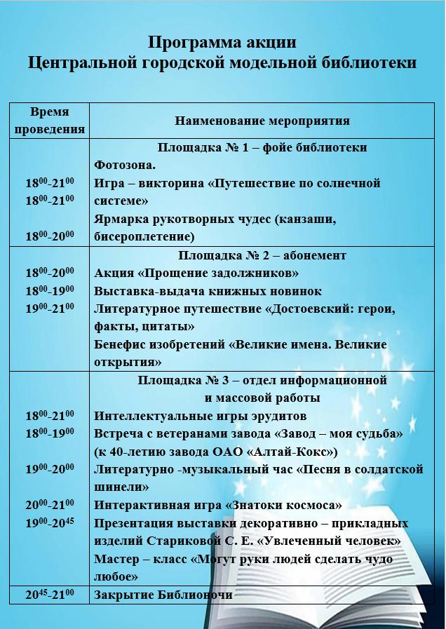 Программа ЦГМБ