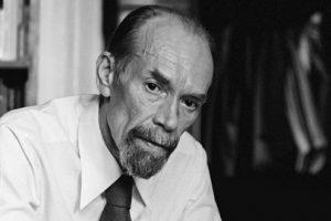 Советский писатель Сергей Алексеевич Баруздин (1926-1991).